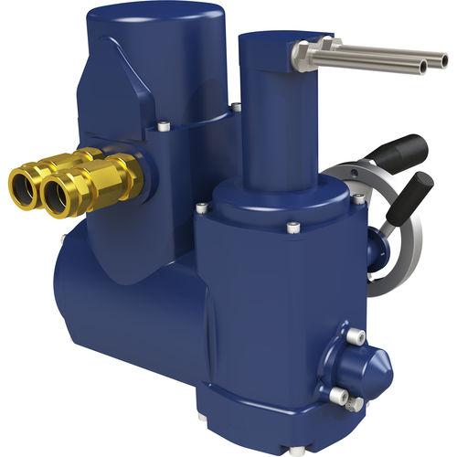 linear actuator / pneumatic / hydraulic / control