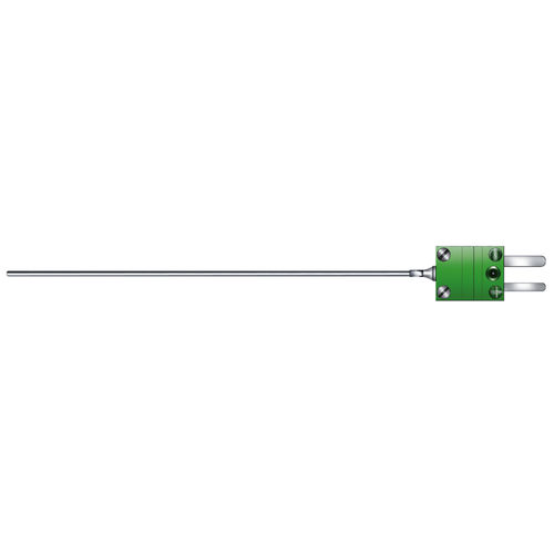 mineral-insulated temperature sensor / type J thermocouple / type K thermocouple / insertion