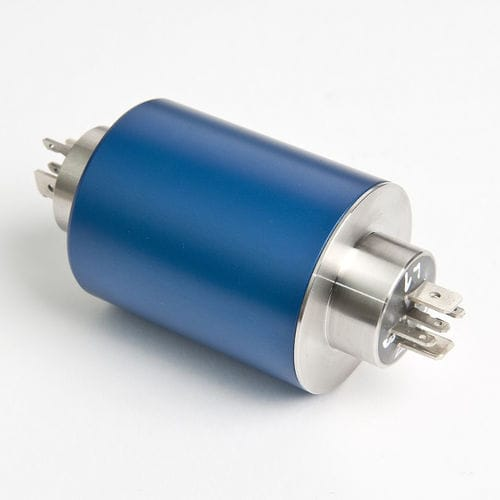 electric slip ring / solid-shaft / with gold contacts / IP54