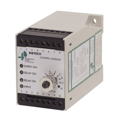 speed control relay / DIN rail