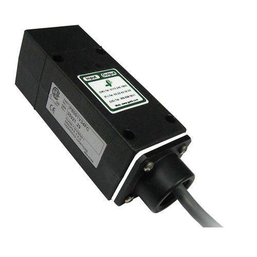 inductive proximity switch / rectangular / with LED light / DIN rail mounted