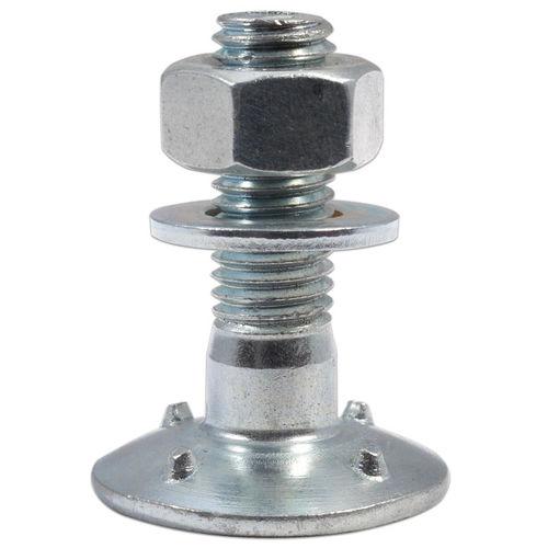 bucket elevator bolt / threaded / stainless steel / carbon steel