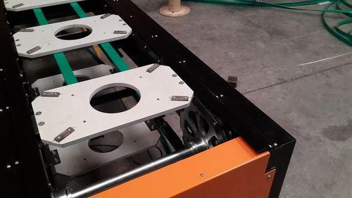 chain conveyor / horizontal