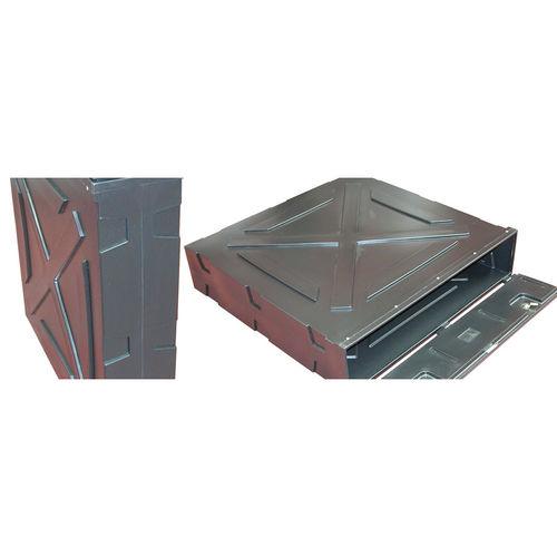 rectangular enclosure / industrial / storage / for vehicles
