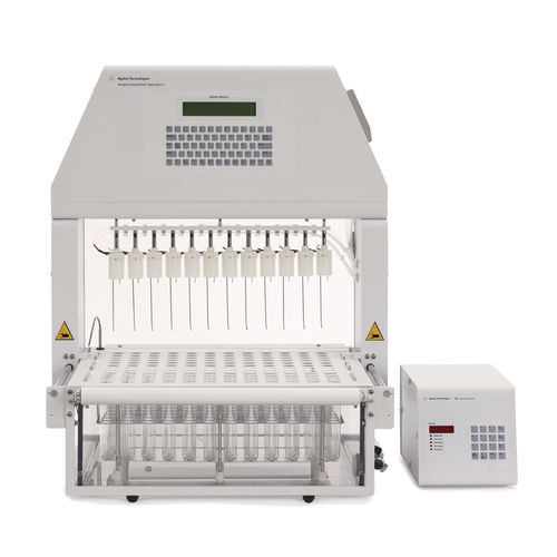 dissolution tester / for tool holders / automatic