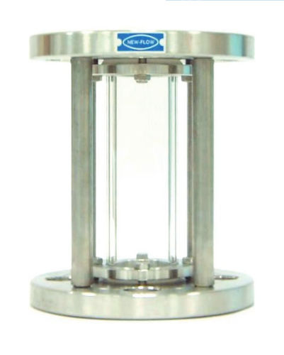 sight glass for industrial applications / stainless steel / flange
