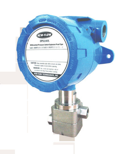 gas pressure switch / differential / adjustable / stainless steel
