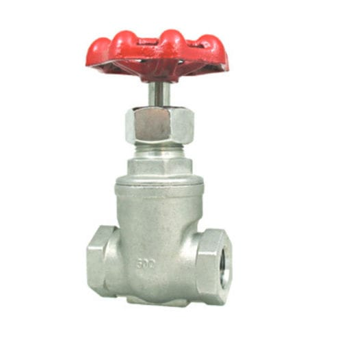 needle valve / manual / for chemicals / stainless steel