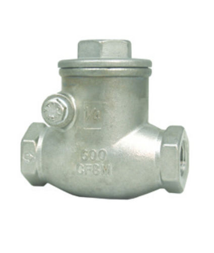 swing check valve / stainless steel