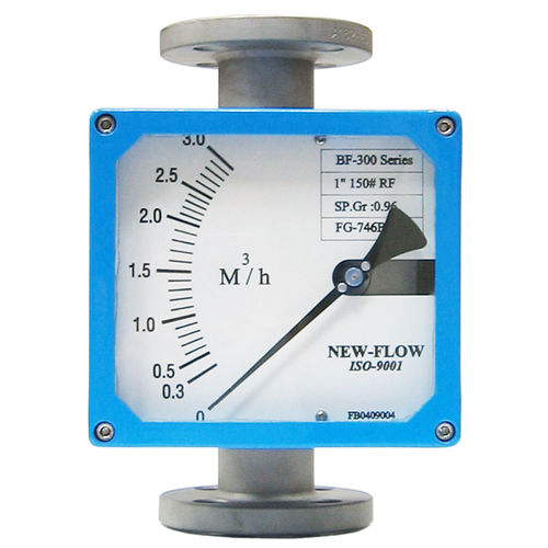 variable-area flow meter / for gas / for steam / for liquids