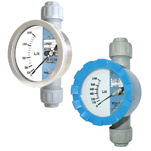 variable-area flow meter / for gas / for air / for liquids