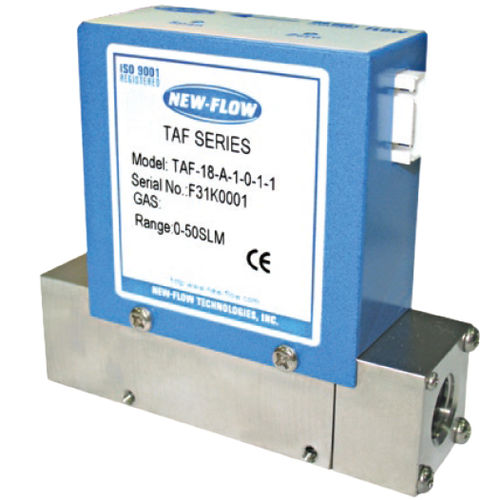 thermal flow meter / mass / for gas / stainless steel