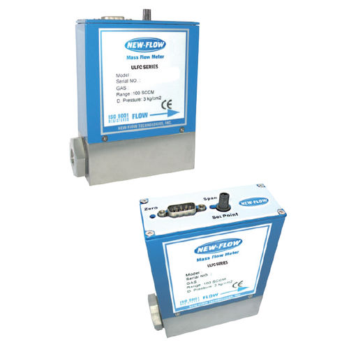thermal mass flow controller / for gas / with LCD display