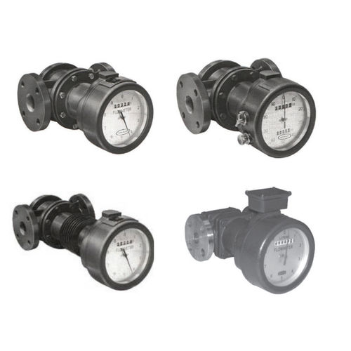 positive displacement flow meter / for fuel / stainless steel / in-line