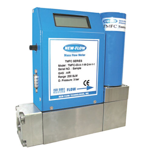 thermal mass flow controller / for gas / stainless steel / with LCD display