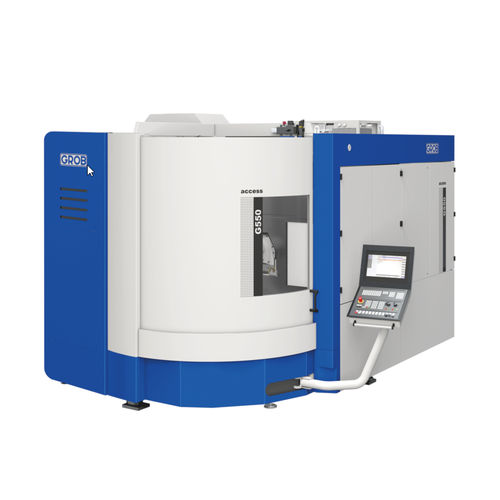 milling CNC machining center / 5-axis / universal / modular