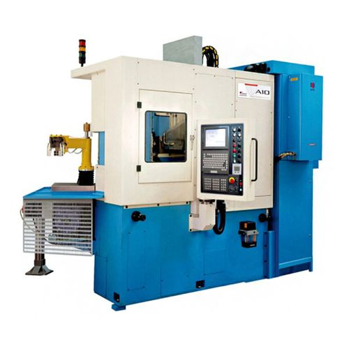 CNC milling-turning center / vertical / 4-axis / drilling