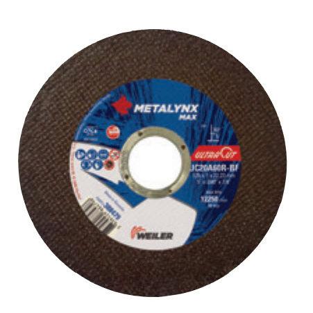 sheet metal cutting disc / steel / thin