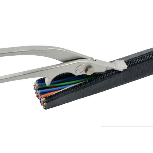 protection sleeve / zip-closing / for cables / wire harness