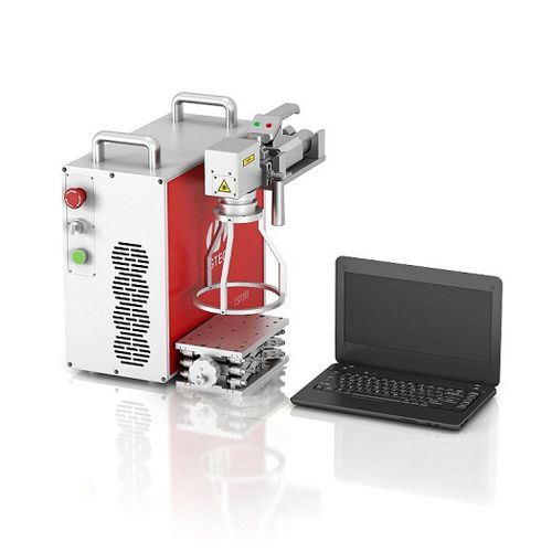laser marking machine / hand-held / compact / continuous