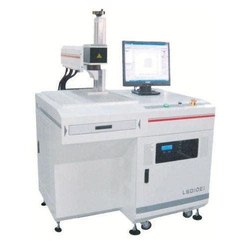 Nd:YVO4 laser marking device