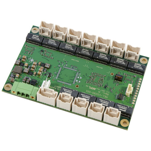 managed network switch / 10 ports / gigabit Ethernet / serial