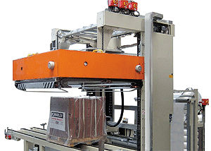 automatic hood machine / for heat-shrink film packages