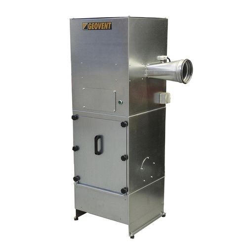 stationary centralized fume extraction system