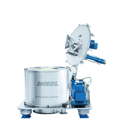 centrifuge for the food industry / for pharmaceutical applications / for chemical applications / process