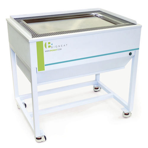 dust removal downdraft table
