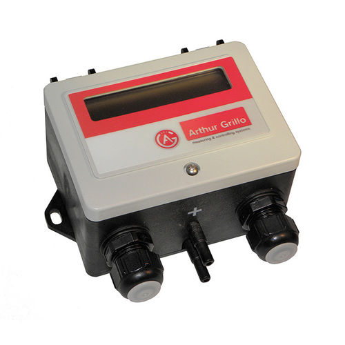 differential pressure flow controller / for gas / for air / with analog output