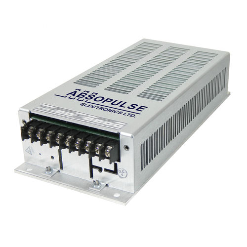 enclosed DC/DC converter / chassis-mounted / front end / regulated