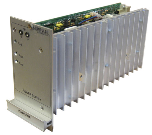 industrial DC/DC converter / rack-mount / plug-in / for railway applications