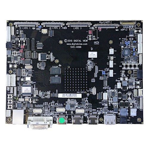 LCD controller card
