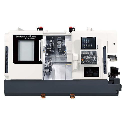 CNC turning center / Y-axis / two-spindle / three-turret