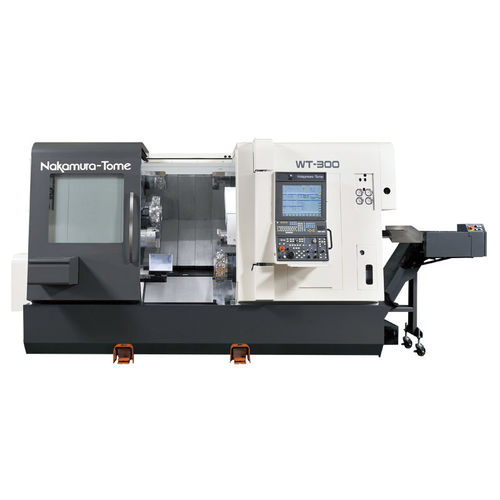 CNC turning center / 4-axis / rigid / double-turret