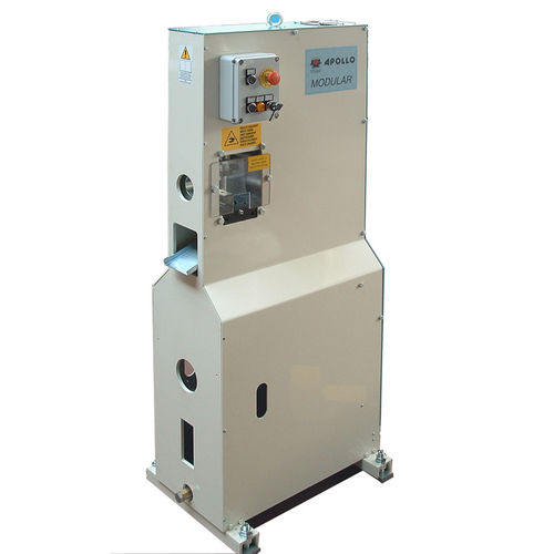 semi-automatic punching machine / electric / for profiles / tube