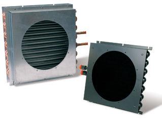 finned tube heat exchanger / gas/liquid / copper / aluminum