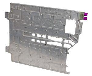 plate-fin heat exchanger / liquid/liquid / copper / aluminum