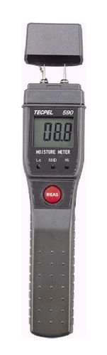 wood moisture meter / pin / with digital display / portable