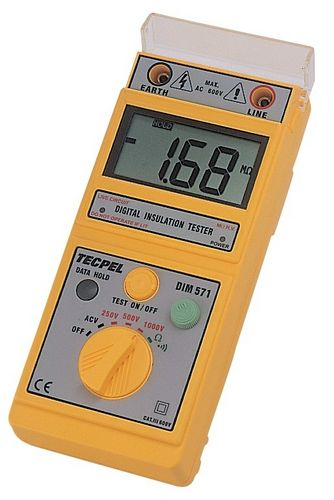 insulation resistance tester / Blu-ray disc