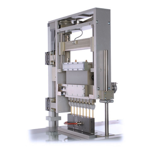 dosing dispenser for the electronics industry / for the plastics industry / for the automotive industry / piston