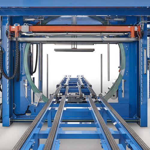 orbital stretch wrapper / automatic / stretch film