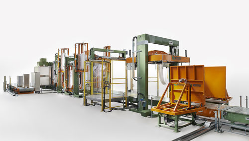 multi-product complete packaging line