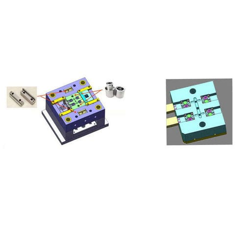thermoplastic plastic injection molding