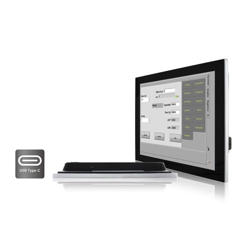 LCD monitor / projected capacitive touchscreen / 15