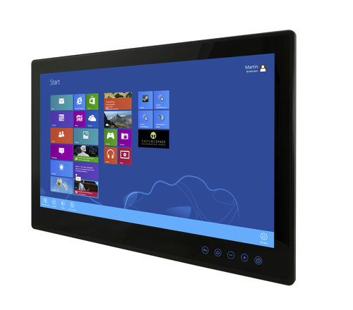 multitouch screen panel PC / 1920 x 1080 / Intel® Celeron Bay Trail / fanless