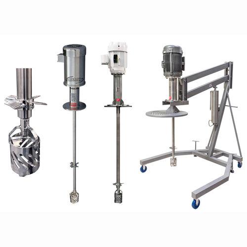 disperser mixer / rotor / batch / for liquids