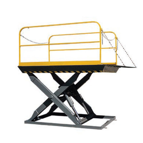 scissor lift table / hydraulic / stationary / loading dock