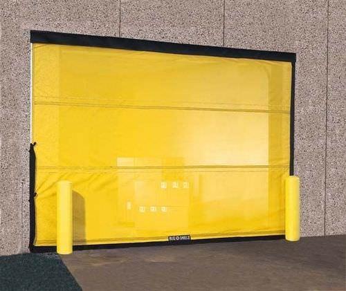 sliding door / fabric / industrial / indoor
